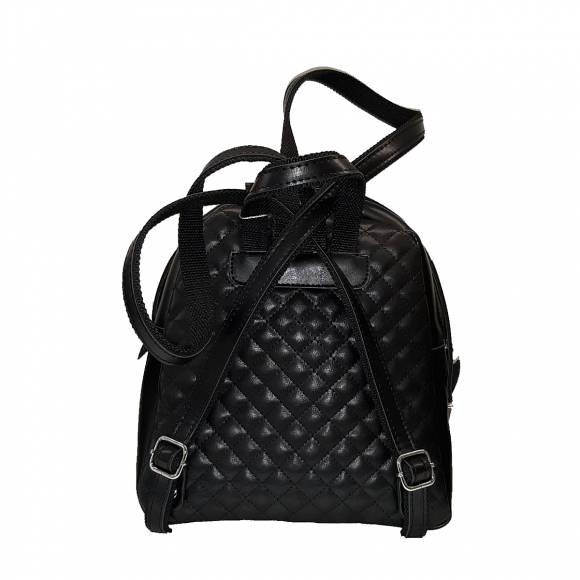 Γυναικεία Τσάντα Backpack Eco Leather Pierro Accessories 90566KTP01 Black