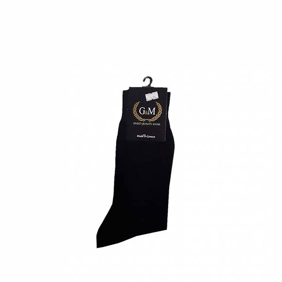 G & M SOCKS 411 BLACK