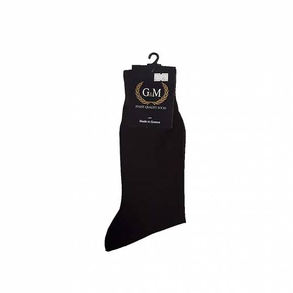 G & M SOCKS 411 BROWN