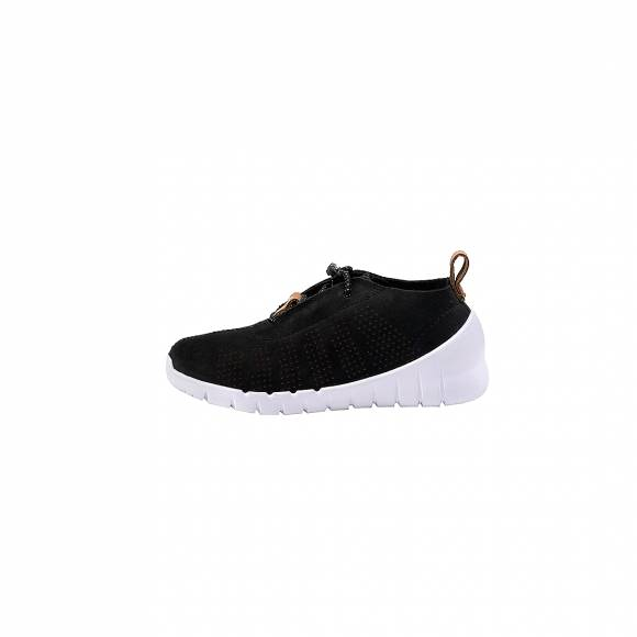 Παιδικά Δερμάτινα Sneakers Clarks Sprint Elite black Nubuck 26135031