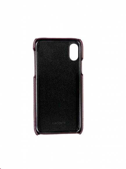 Lacoste NF2709CE Iphone case X Winetasting Split Cow Leather