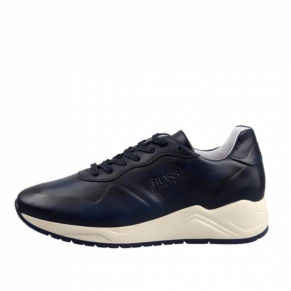 Ανδρικά Sneakers Boss Shoes NQ191 Blue Burn
