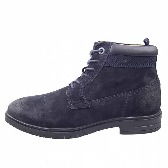 Ανδρικά Μποτάκια Pepe Jeans PMS50199 595 Thomas Flex Navy