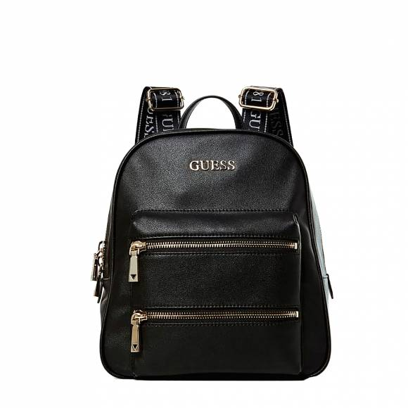 Γυναικείες Τσάντες Guess Caley Pocket Front Maxi cwvg767433 Backpack black