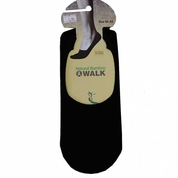Walk socks W726 Black Bamboo