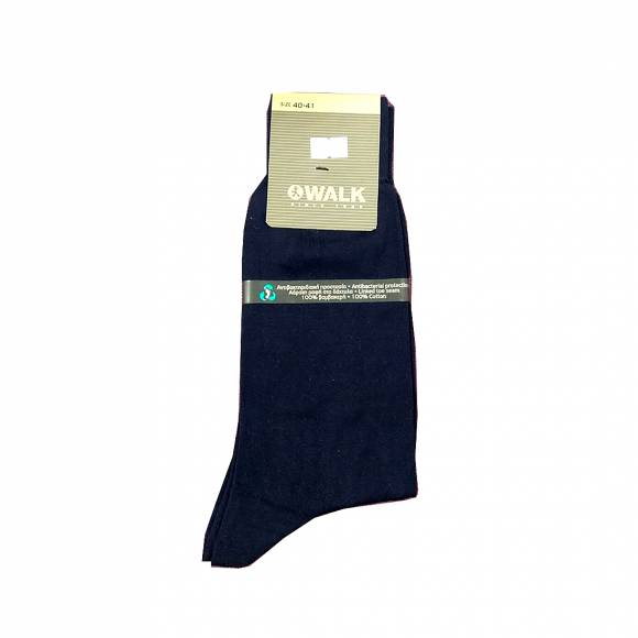 Walk socks W100 Blue Cotton